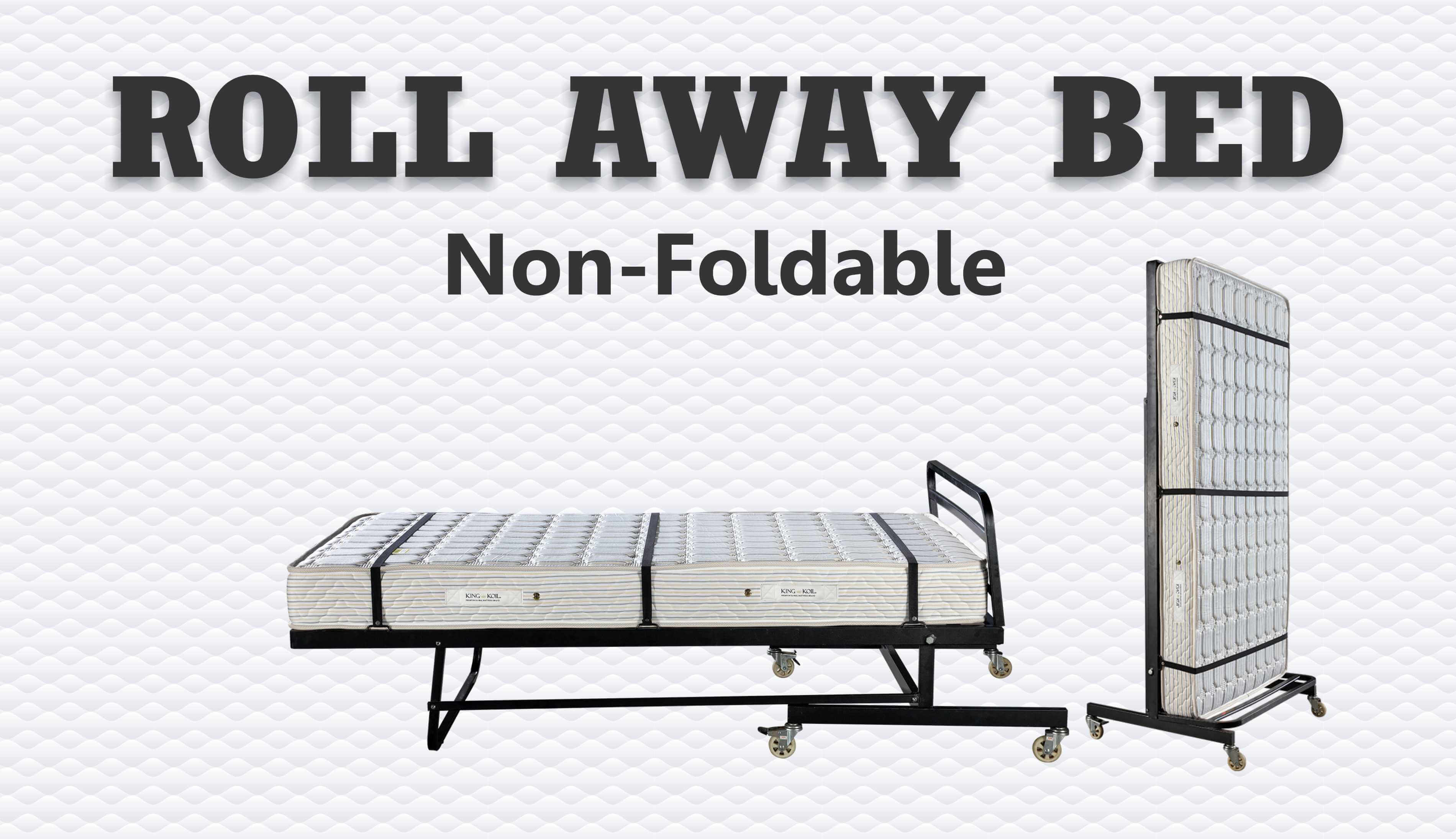 Non Foldable Bed for Hotel